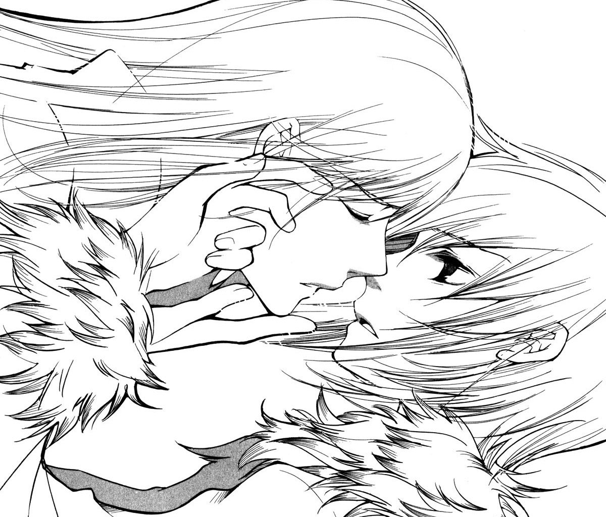 Soubi and Ritsuka from Loveless