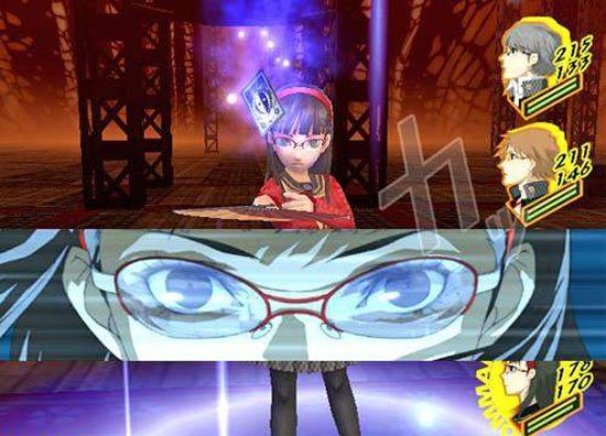 Yukiko summoning her persona.