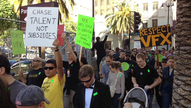 VFX Protest