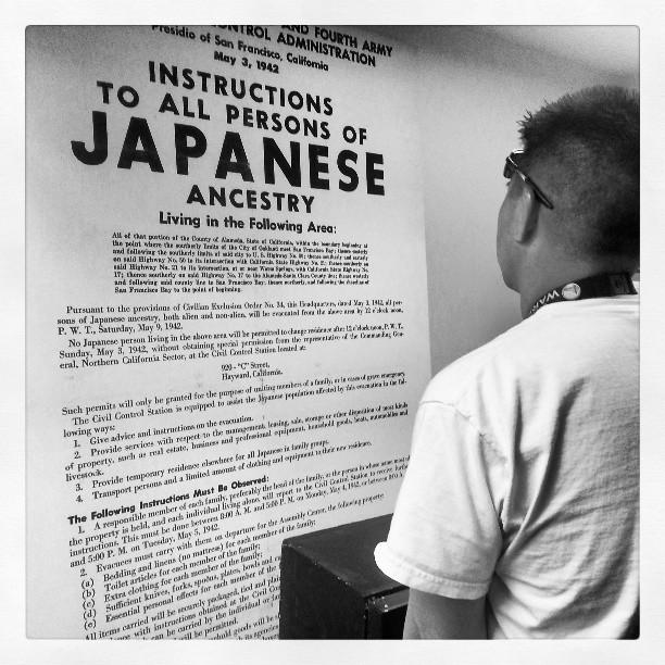 Japanese Internment Notice