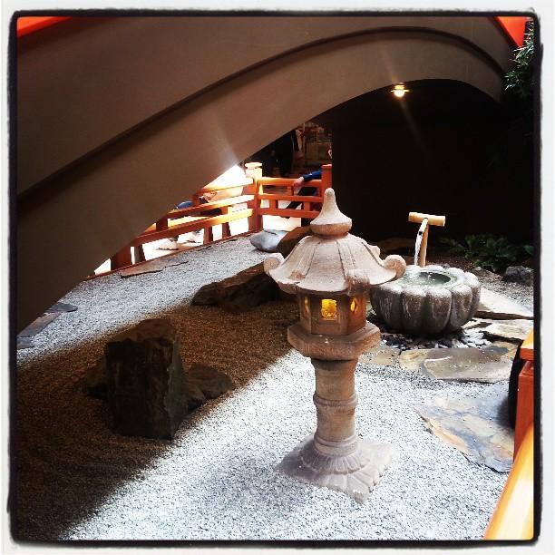 Zen Rock Garden in the Mall