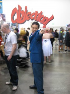 Phoenix Wright... there were a lot of Phoenixes this year.