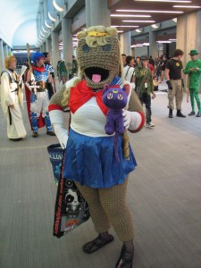 Crochet (or knitted) Sailor Moon is awesome!
