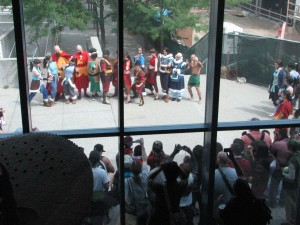 This massive group for the Avatar/Korra cosplay gathering