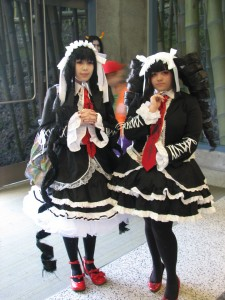 Cute lolita characters (not sure where from)