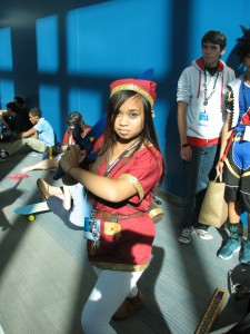 Red tunic Link