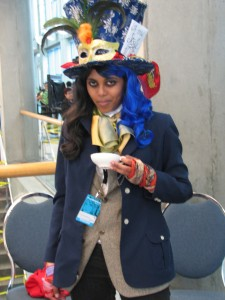 Awesome Mad Hatter cosplay