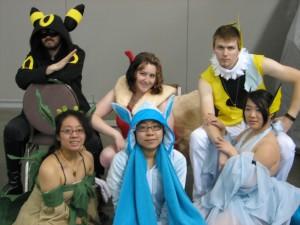 Suddenly, many wild Pokemon appeared