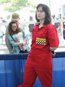 Sweet Joel cosplay. I'm still *way* in to Mystery Science Theater 3000