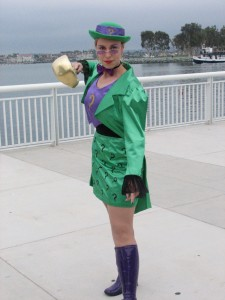 This was an amazing crossplay of the Riddler.