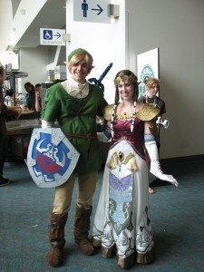Awesome couple that I met at the Geek and Sundry prom... and quite possibly the best Link and Zelda costumes I've seen.
