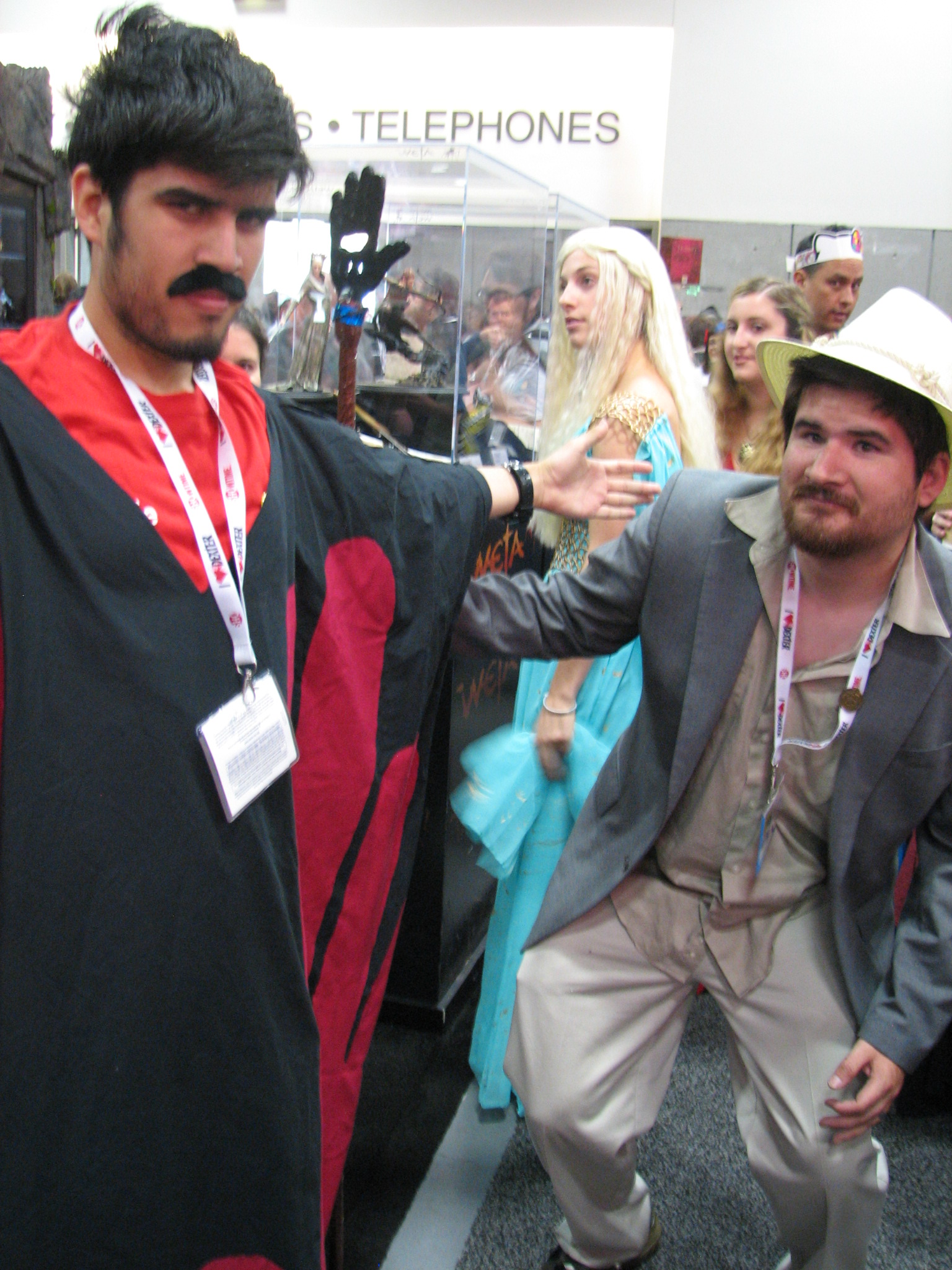 The Master and Torgo from  You know Manos the Hands of Fate  sc 1 st  Which Way to Hollywood & Comic Con Day 3 pt. 1: the Magical Mystery Tour u2013 Which Way to ...