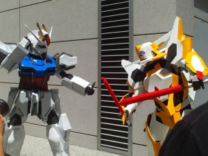 Everybody was Gundam fighting... Picture by Jeanie Butera